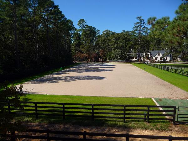 Dressage Ring on Two Notch